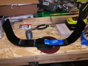 Cyclotron Bumper Arm